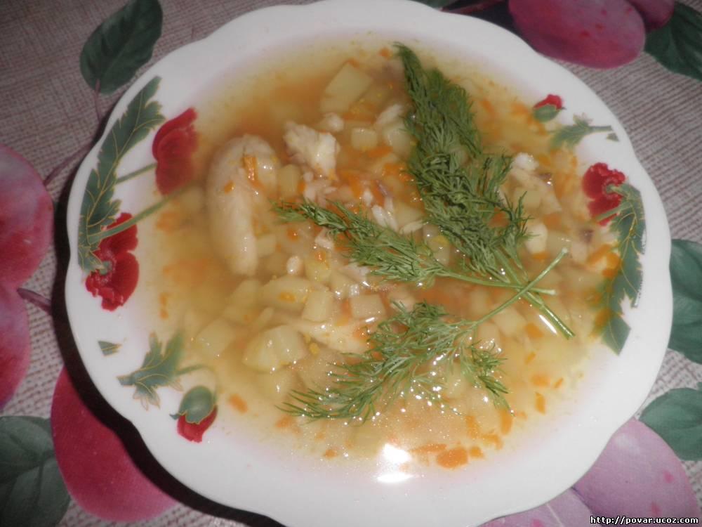 Рыбный суп из тилапии рецепт