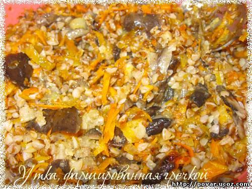 кулинарные рецепты приготовление утки